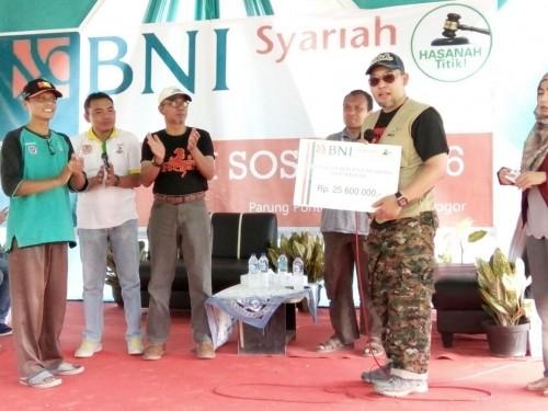 Bakti Sosial BNI Syariah Di Kampung Parung Ponteng - Desa Tajur - Citeureup
